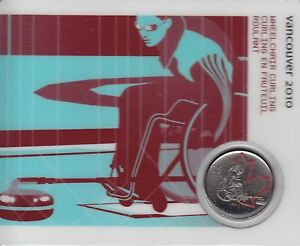 Petro Canada Snowboarding 2007 25-cent Olympic Canada Coin Card