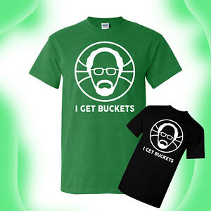 cc3d444b Uncle Drew Get Buckets T-Shirt Kyrie Irving Shaq Reggie Miller ...