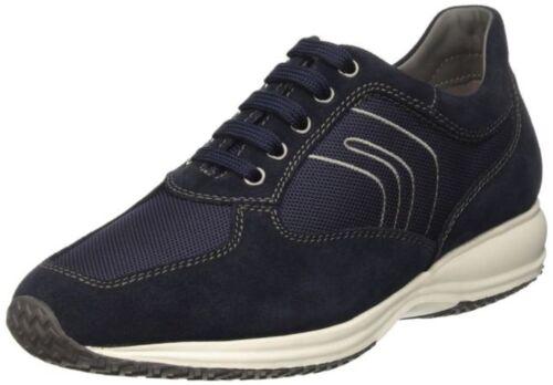 Uomo Man Sneakers Scarpe Camoscio G Navy Shoes Textile Happy Tela Suede Geox 4xdwaqB4