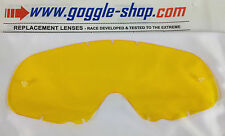 GOGGLE-SHOP REPLACEMENT LENS - OAKLEY CROWBAR MOTOCROSS MX GOGGLES YELLOW TINT