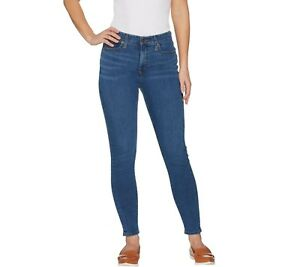 Isaac-Mizrahi-Regular-TRUE-DENIM-5-Pocket-Ankle-Jeans-Medium-Indigo-Size-10-QVC