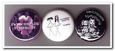 SWITCHBLADE SYMPHONY Buttons Pins Badges 3 goth gothic rock