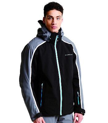 DARE2B IMMENSITY II Mens Ski Board Jacket BLUE Sizes 4XL 8XL PLUS SIZE