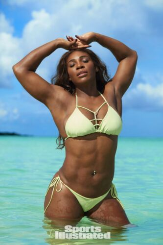 SERENA WILLIAMS PLAYBOY PENTHOUSE HUSTLER MODEL Nude B 24 inch by 36 inch