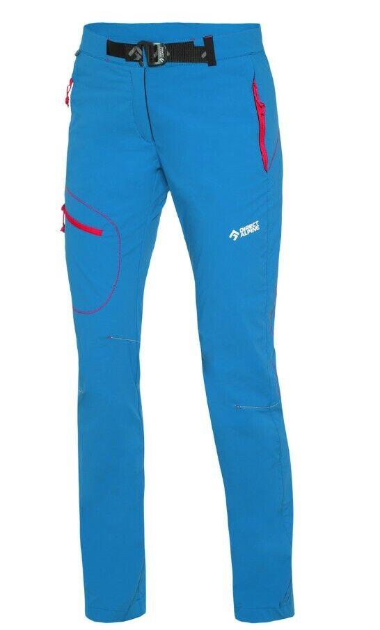 Direct Alpine cruise Lady Pant outdoorhose para señora azul-rosado
