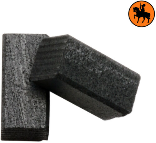 NUOVO Spazzole di Carbone BLACK /& DECKER CD400-5x5x10mm