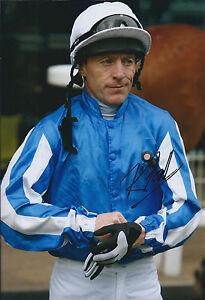 Kieren-FALLON-SIGNED-Autograph-Photo-AFTAL-COA-Champion-Jockey-Derby-Oaks-Winner