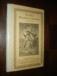 PETITE-HISTOIRE-SAINTE-ILLUSTREE-Abbe-J-Gruss-1963