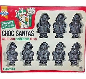x10-CHOC-SANTAS-10-Treats-Pawsley-Dog-Christmas-Food-bp-Xmas-Pet-Chocolate