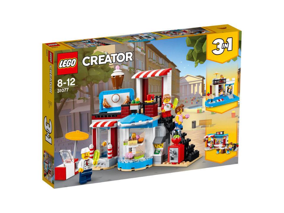 LEGO CREATOR MODULARE CASA ZUCCHERO  31077