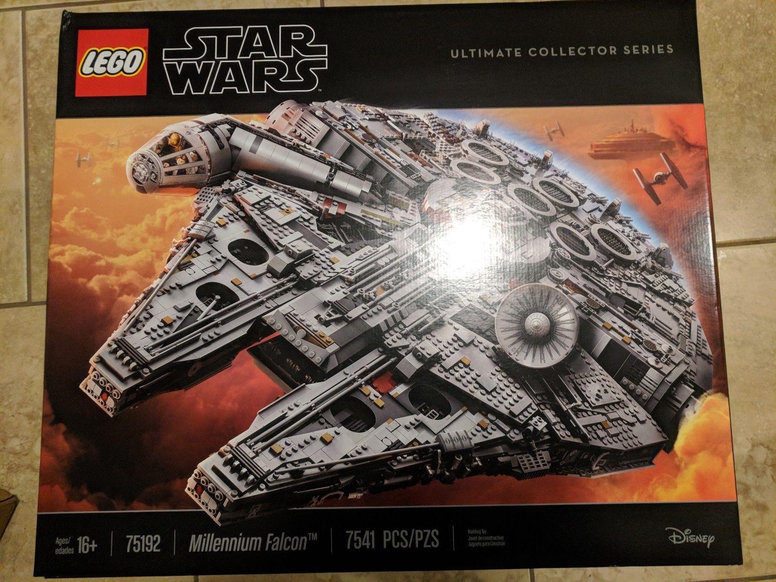 Lego Star Wars Millennium Falcon 2017 UCS Ultimate Collectors Series (75192) NUEVO