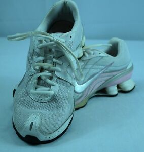 brand new 5a7ab 498dc Image is loading Women-039-s-Nike-Shox-Vivify-Running-Shoes-