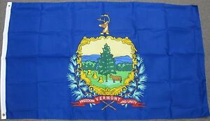 3X5 VERMONT STATE FLAG VT FLAGS STATES NEW USA US F277