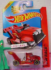 Case k 2014 i Hot Wheels RIG STORM #175❊Red Semi; 6❊HW Race ☀ X-Raycers