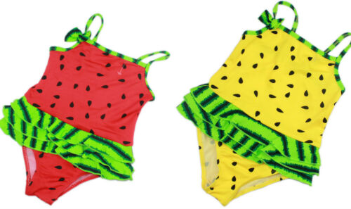 Lovely Watermelon Child Kids Baby Girls Swimsuit Swimwear Bikini One Piece 6M-3Y