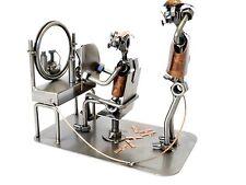 Indoor Steel Sculpture Hairdresser Jobs Ideal Gift