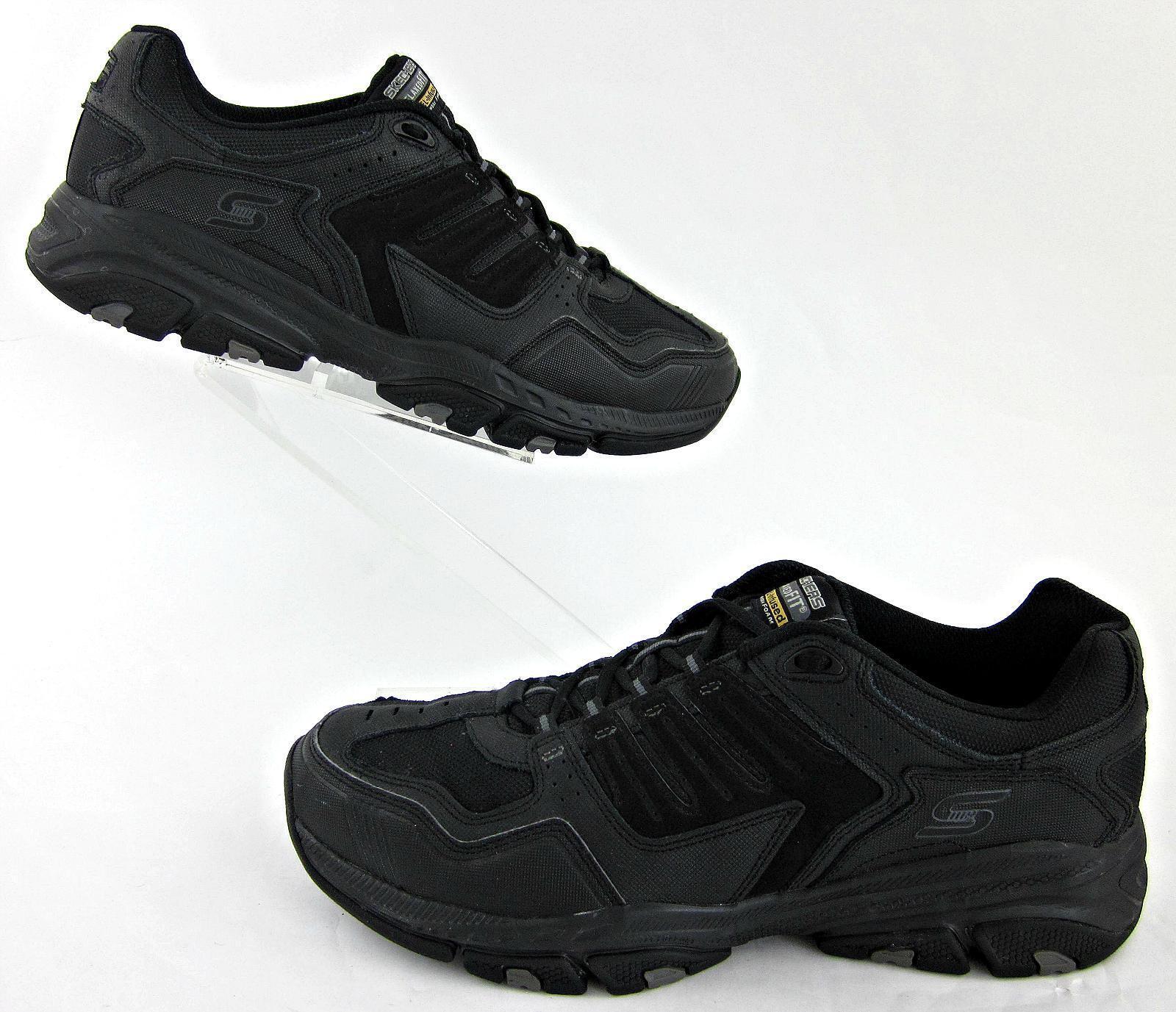 Skechers Mens Cross Court TR Fitness shoes Black Sz 13