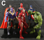 Action-Figure-Marvel-Legends-Avengers-Captain-America-Spider-Man-Iron-Man-Set thumbnail 11