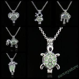 Popular-Turtlet-Design-Necklace-Luminous-Pendant-Charm-Jewelry-Gift-Bid-Hot-Top