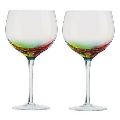 700ml Set of 2 Artland Neon Gin Glass