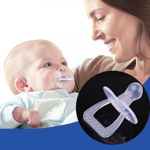 BPA Safe Silicone Nipple Soother Pacifier Baby Infant Orthodontic Dummy Teether