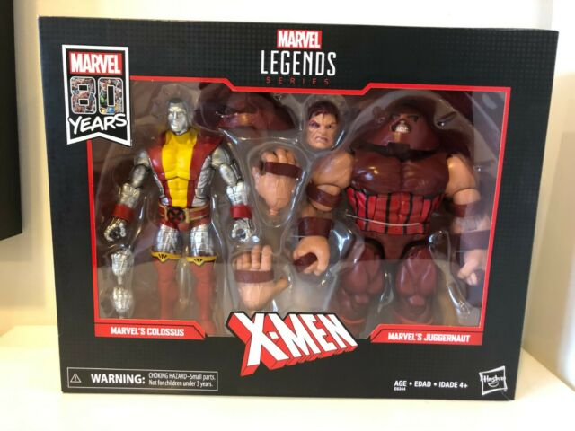 Hasbro E6344 Marvel Legends 80th Anniversary X-Men Colossus and Juggernaut...