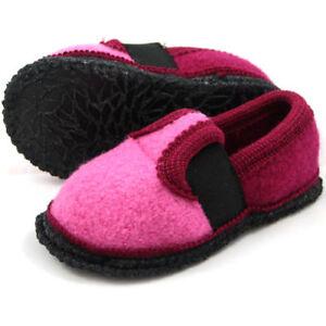 sports shoes 9e103 d1514 Details zu BECK BOBBY * rosa * Hausschuhe Hüttenschuhe Kinder Mädchen * NEU  * Gr. 21-35