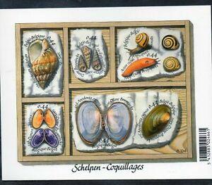 BELGIUM  BELGIQUE    2005  BL 122 ** COQUILLAGES  SCHELPEN  6 x 0.44 euro    //