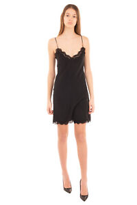 RRP-970-CHLOE-Silk-Slip-Dress-Size-34-2XS-Fully-Lined-Strappy-Made-in-France