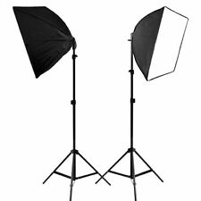2PCS Lighting Softbox Photography Photo Equipment Soft Studio Light Photo Kit MY