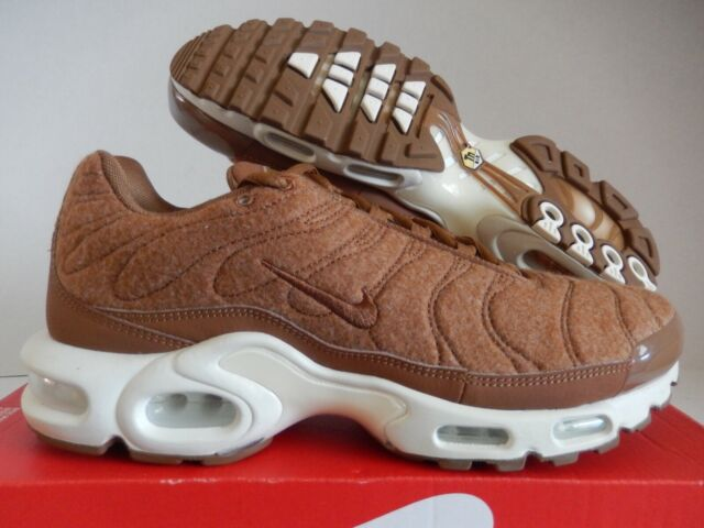 buy online 4f09c a9868 Nike Air Max Plus Quilted Mens Ale Brown 806262-200 Size 8.5