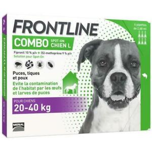 FRONTLINE Combo chien 20-40kg - 6 pipettes