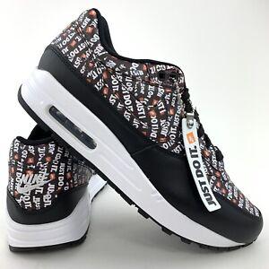 Details about Nike Air Max 1 Premium Men's Size 7.5 Just Do It 875844 009 Women's Size 8.5