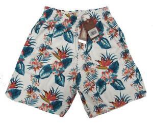 New Golden State Warriors Mens Mitchell & Ness Swingman HWC Floral Shorts