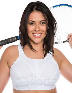 9990a8ddf2b2 Caricamento dell'immagine in corso bianco-da-donna-senza-ferretto-reggiseno- sportivo-taglie-