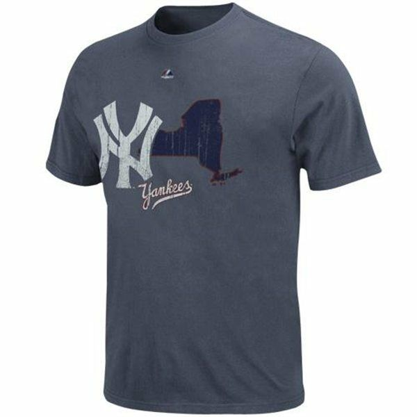 MLB Baseball t-shirt new york NY yankees yankees yankees Cooperstown double LEAD pigment Dyed ceaaa1