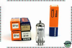 AgréAble Ef40 Vacuum Tube, Valve, Röhren, Nos, Nib. X1