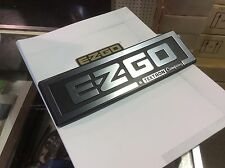 E-Z-GO  TXT Golf cart front name plate OEM  2001-2010
