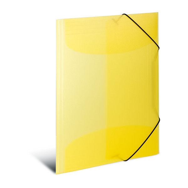 Sammelmappe A4 PP transluzent gelb (Herma; #Sammelmappe# 19502)