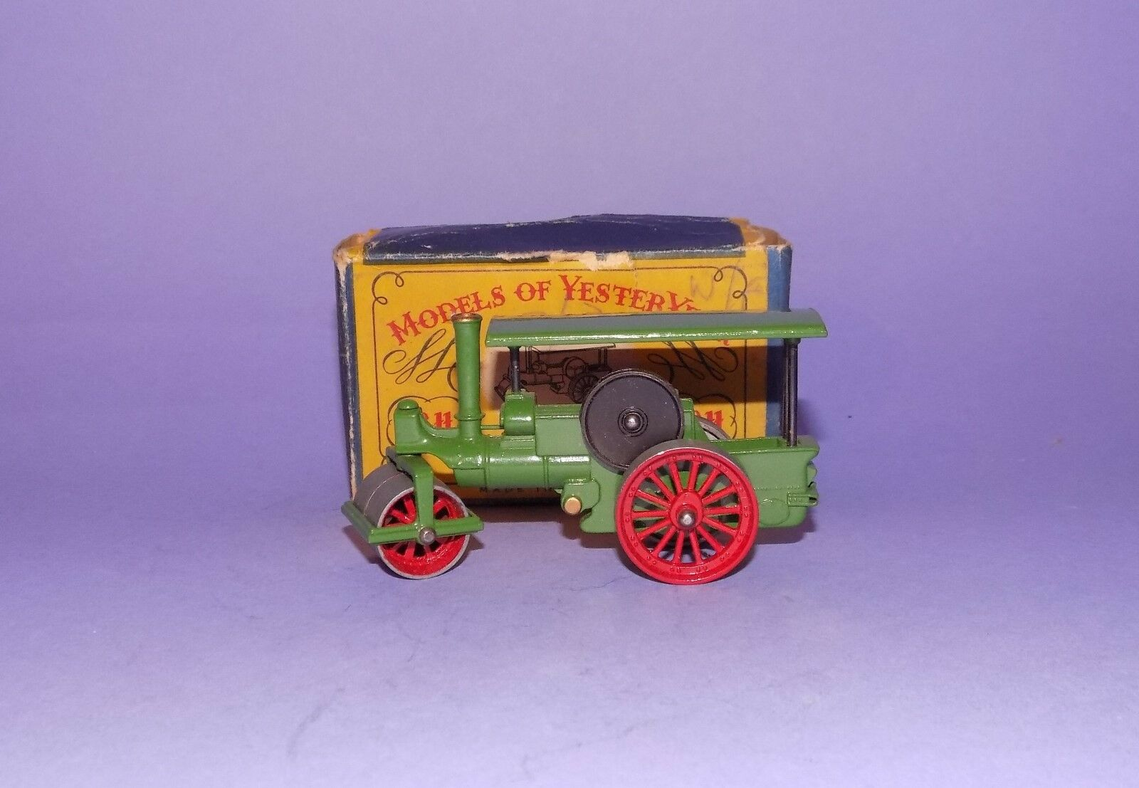 Comme neuf BOXED  1958  LESNEY m.o.y  No 11  AVELING & PORTER STEAM ROLLER