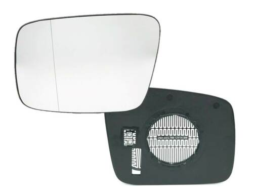 Vidrio pulido espejo exterior de vidrio de calentamiento a la izquierda VW t4 furgoneta caja matrícula