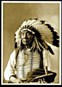 966-Postcard-Red-Cloud-Oglala-Sioux-Chief-D-Barry-Photo-1897-NEW