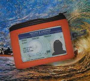 Floating Wallet with ID Window and Clip - Brag Wets