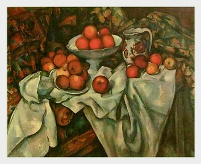 unstretched Art On Canvas Skillful Knitting And Elegant Design Reliable Paul Cezanne To Be Renowned Both At Home And Abroad For Exquisite Workmanship Special Offer Pommes Et Oranges