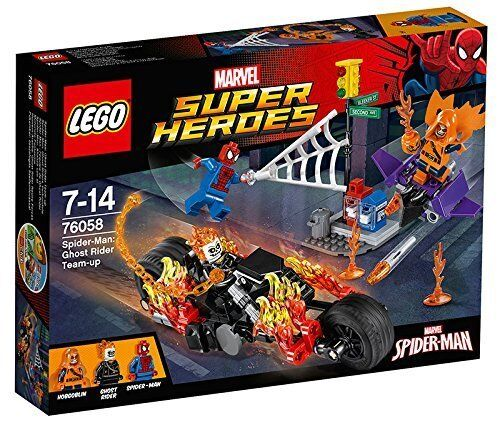 Lego Marvel Super Heroes 76058 Spider-Man GHOST RIDER TEAM-UP NISB