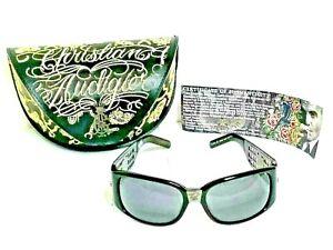 CHRISTIAN-AUDIGIER-Ed-Hardy-CAS408-60-17125-Sunglasses-Shades-with-Case