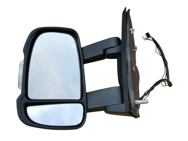 Rétroviseur - GAUCHE Miroir à électrique POUR CITROEN JUMPER 06- LONG CHAUFFANT