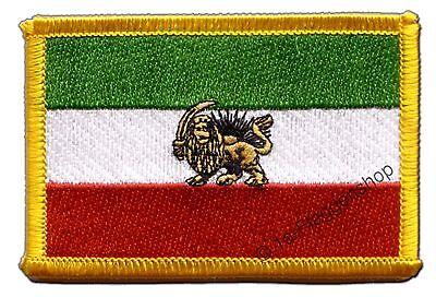 Iran Shah Period Patch Flags Patch 8x6cm