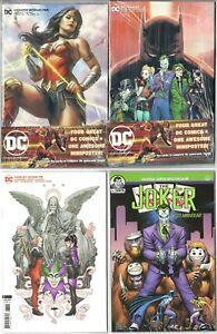Walmart Batman #89/ Hell Arisen #3/ Harley #75/ Joker 80th PUNCHLINE ORIGIN SET