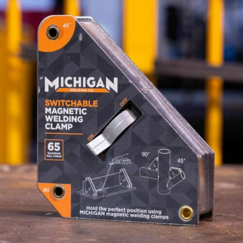 Michigan 2-ANGLE SWITCHABLE MAGNETIC WELDING CLAMP 45° /& 90° 35Kg Or 65Kg